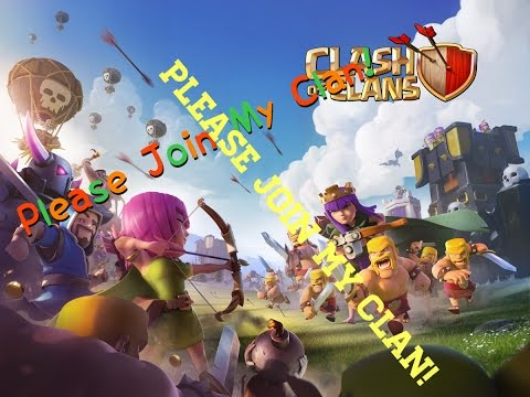 Clash Of Clans [Please Join My Clan,Clan Name And Clan Tag Is In Desc Below] 👇👇👇