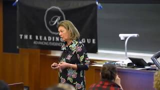 Reading League Event - January 2019 - Deciphering DECODABLE TEXT - Alicia Sparks, Presenter
