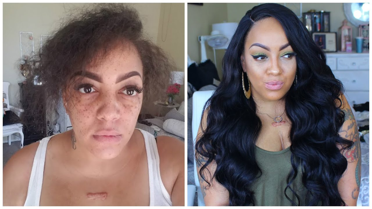 BEFORE & AFTER Beauty Supply & Drugstore BEAT FACE MAKEUP LOOK