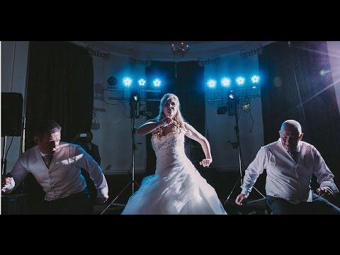 Awesome Wedding Dance  2016 Beamish Hall  Beamish