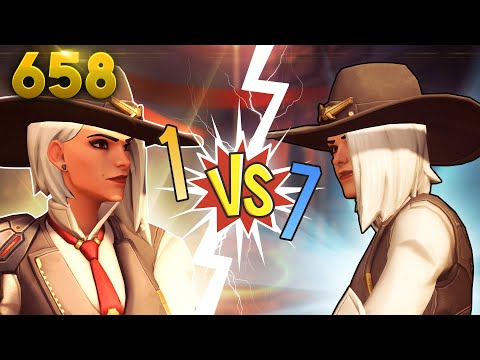 Ashe Kills EVERYTHING!! | Overwatch Daily Moments Ep.658 (Funny and Random Moments) thumbnail