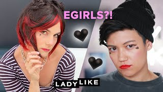 We Dress Like E-Girls For A Day • Ladylike