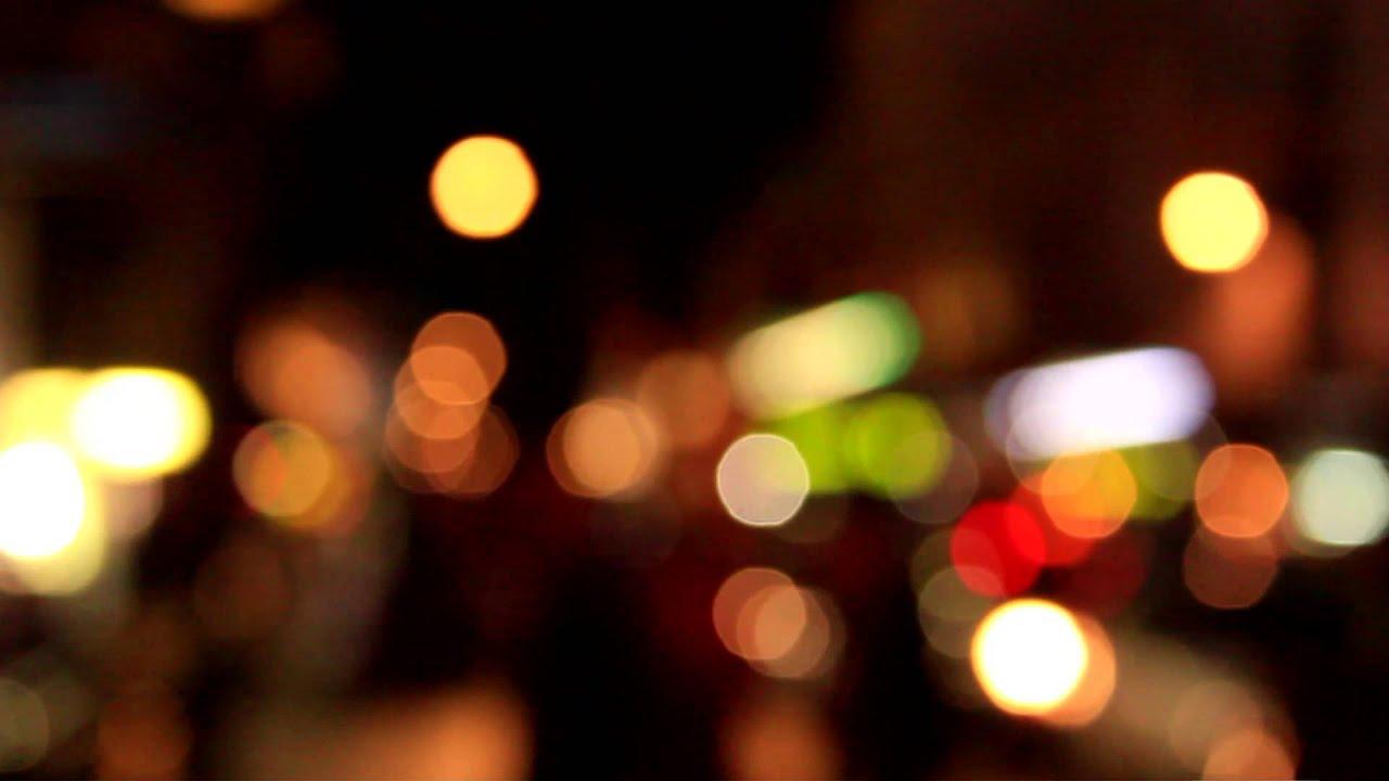 City Bokeh Lights
