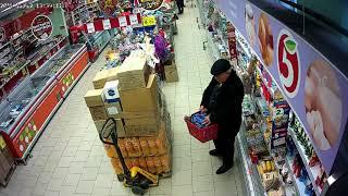 Gambar cover КАК КАВКАЗЦЫ ВОРУЮТ В ПЯТЕРОЧКЕ. Грузин спрятал корзину масла и колбасы в свой ПИДЖАК.