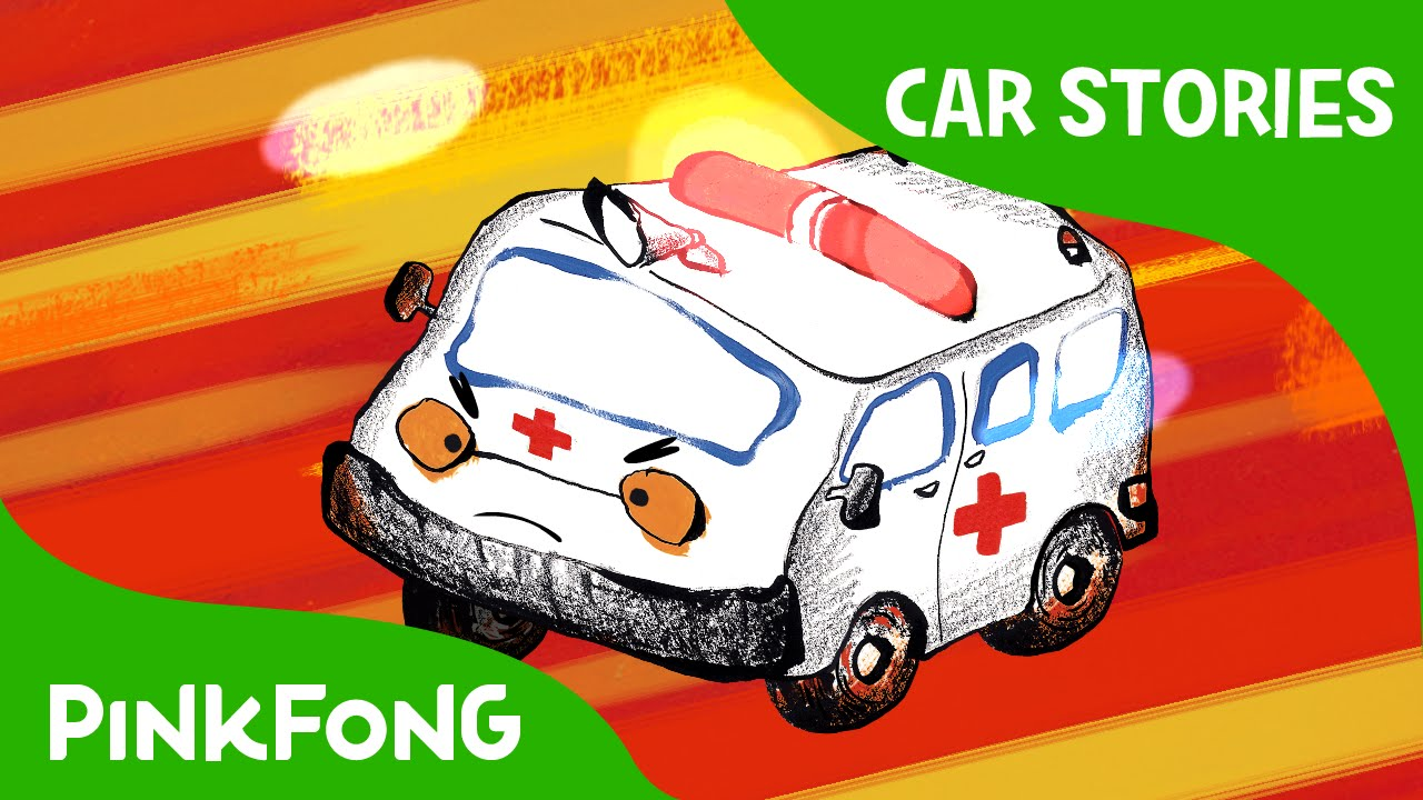 Ambulance to the Rescue | Car Stories | PINKFONG Story Time for Children