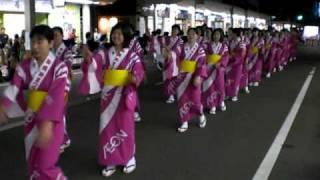 新発田市の夏のお祭りの催しのひとつです.