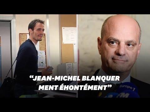 Un prof dénonce l'inaction de Blanquer quand il était recteur à Créteil