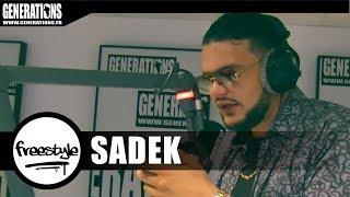 Sadek - Freestyle  #VVRDL  ( Live des studios de Generations)