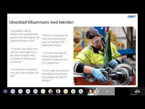SKF Norge app Bearing Assist och DialSet