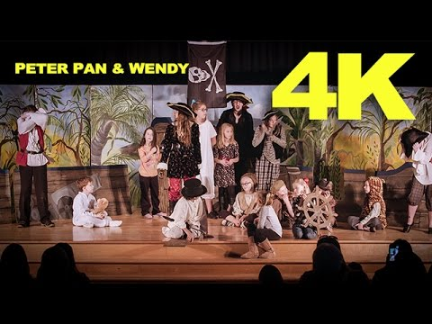 Peter Pan And Wendy - Kids Theatre - 4K Sony FS7 II 24p