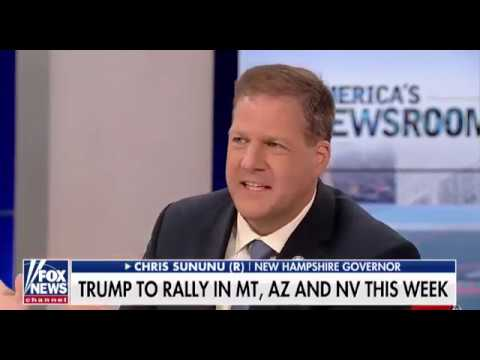 New Hampshire Gov. Chris Sununu on FOX News