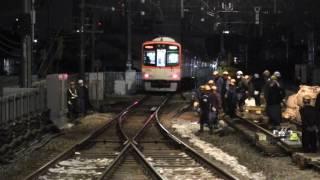 阪神電車/甲子園駅~武庫川駅間 ・高架線に変わりゆく時。2017/03/17~03/18
