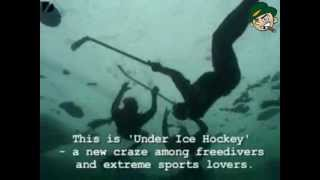 Hockey Team Found Floating Under Water - Hooligan Daily