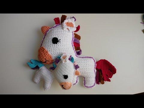 Unicornio amigurumi, paso a paso a crochet, parte 1 - YouTube | 360x480