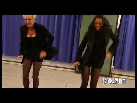 Brandy Norwood and Amra Faye-Wright Do the 'Hot Honey Rag' in Rehearsal for Broadway's CHICAGO