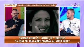 Dezvăluiri şocante despre iubitul Iuliei Vântur!  Salman Khan, acuzat de violență!