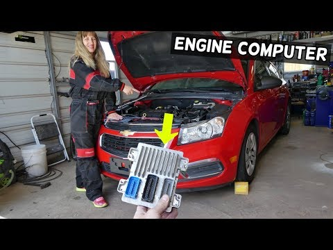 ENGINE COMPUTER ECU REPLACEMENT CHEVROLET CRUZE SONIC  ENGINE ECU REPLACEMENT LOCATION