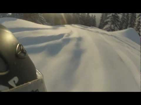 Awesome snow in Bavaria! Let's rock the hill! Brauneck - Lenggries - GoPro Hero 2 Outdoor!