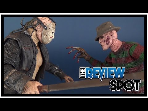 Comparing the NECA Nightmare on Elm Street Remake Freddy Vs Friday the 13th Remake Jason