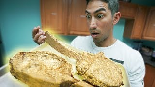 Eating Ridiculous $2,000 Gold Covered Steaks!!