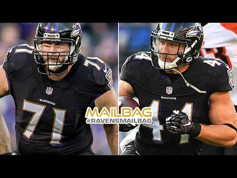 Who Replaces Ravens Free Agents If They Leave? | #RavensMailbag | Baltimore Ravens