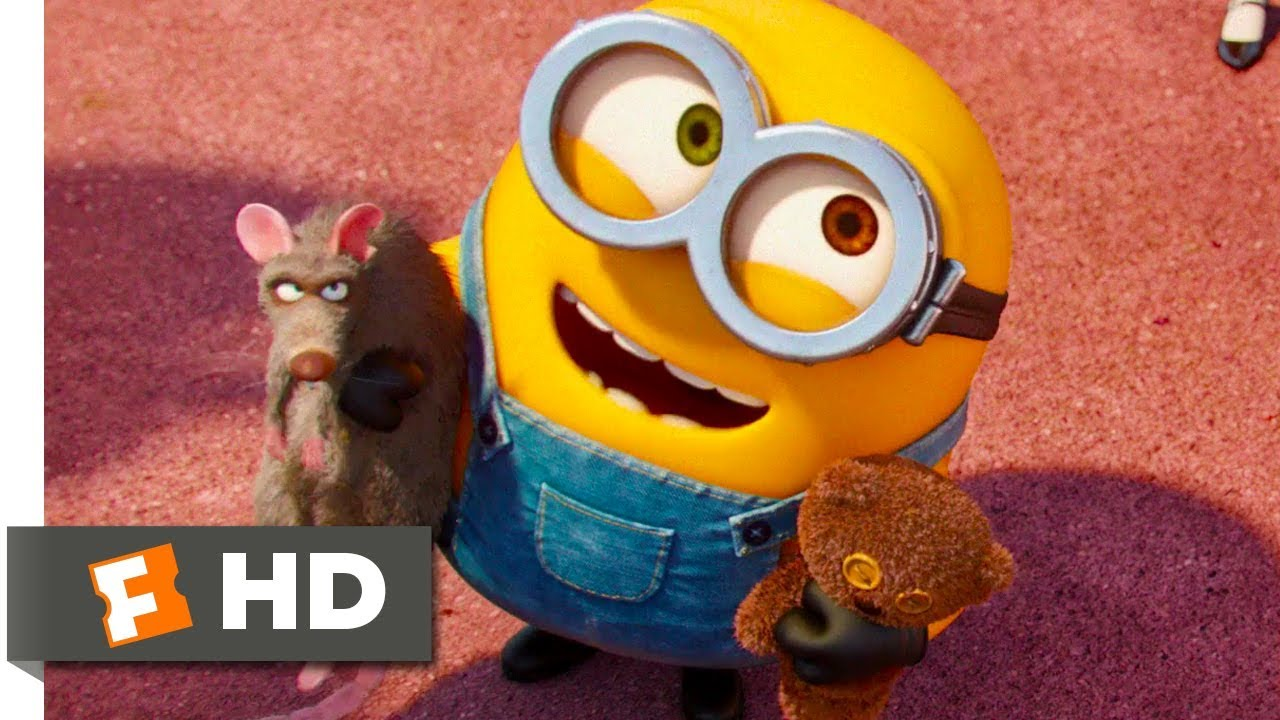 Minions The Minions Meet Gru Scene Fandango Family Youtube