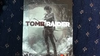 "Tomb Raider ""Steelbook"" Edition Unboxing {Target Exclusive}"