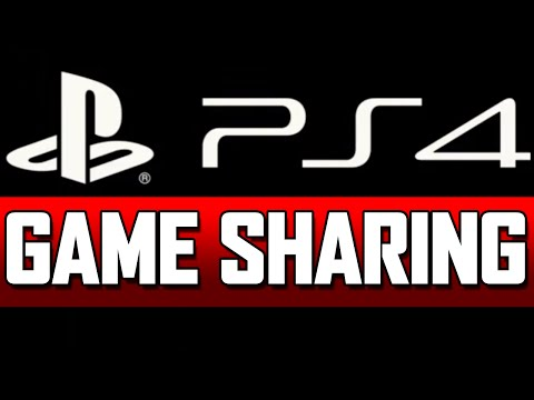 PS4 Game Sharing (Free Games) Tutorial
