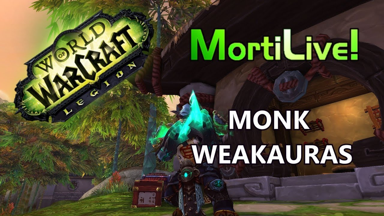 Monk UI / Weakauras + ElvUI Setup Patch 7 3 5 by Mortius MMO