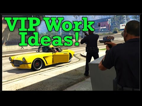GTA 5 Why I'd Like To See Rockstar Add More VIP Work & Some VIP Work Suggestions (Future DLC Ideas)