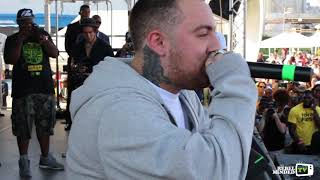 Mac Miller performing Suplexes Inside of Complexes and Duplexes at BKHHF 2014