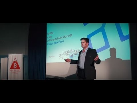 Dr. Craig Wright: Hording, equity, and the end of debit and credit (Bitcoin Meetup Switzerland 2017)