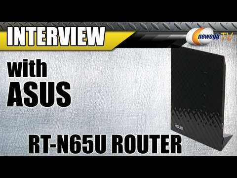 Newegg TV: ASUS Black Diamond Series Dual-Band Wireless-N750 Gigabit Router Overview w/Interview