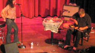 Fred Frith & Shelley Hirsch - San Francisco, 9/6/11