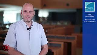 Prof. Dr. Michelangelo GUIDA İktisadi ve İdari Bilimler Fakültesini Anlatıyor
