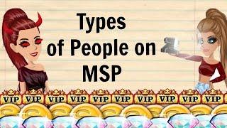 Types of People on MSP