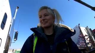 Zakładanie łańcuchów na koła - nauka, cz. 1, Snow chains - my first time, Iwona Blecharczyk