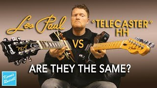 Les Paul vs Telecaster With Humbuckers | Can You Tell the Difference?
