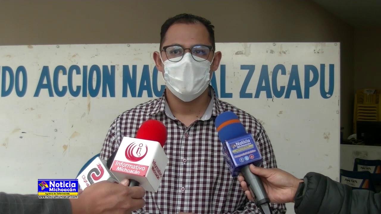 Con estrictas medidas preventivas Comité Directivo Municipal del PAN reabre sus oficinas