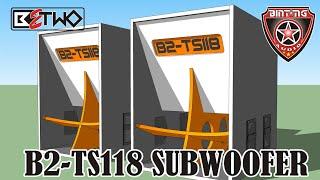 "New Design Box Speaker 18"" B2-ts118"