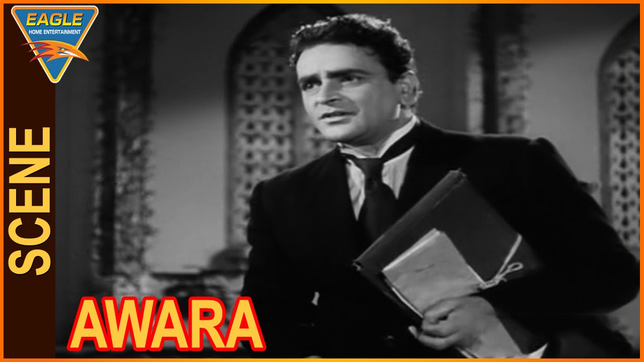 Awara Hindi Movie  Prithviraj Kapoor Best Scene  Eagle -7555