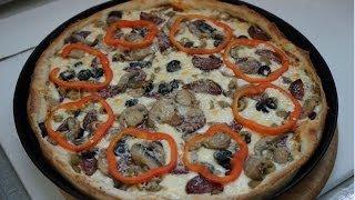 """Пицца """"маргарита"""" подробный видео рецепт"""