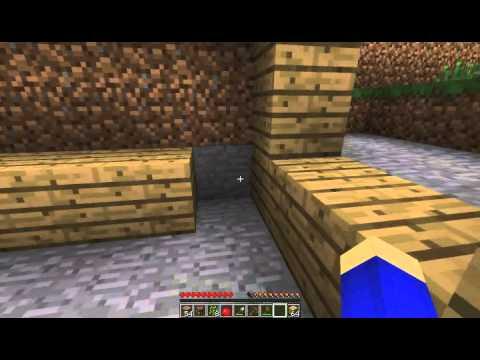 Let 39 s play minecraft dutch snel een huis maken part for Huis maken minecraft