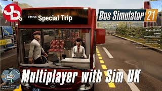 Taking A First Look At Multiplayer on Bus Simulator 21 (with Sim UK) screenshot 1