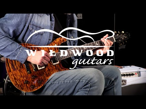 PRS Guitars Wood Library Semi-Hollow McCarty 594 - Brazilian Rosewood  •  SN: 18261215