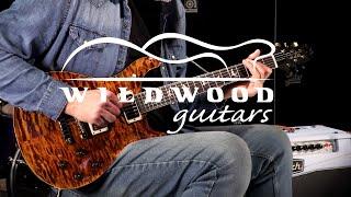 Baixar PRS Guitars Wood Library Semi-Hollow McCarty 594 - Brazilian Rosewood  •  SN: 18261215