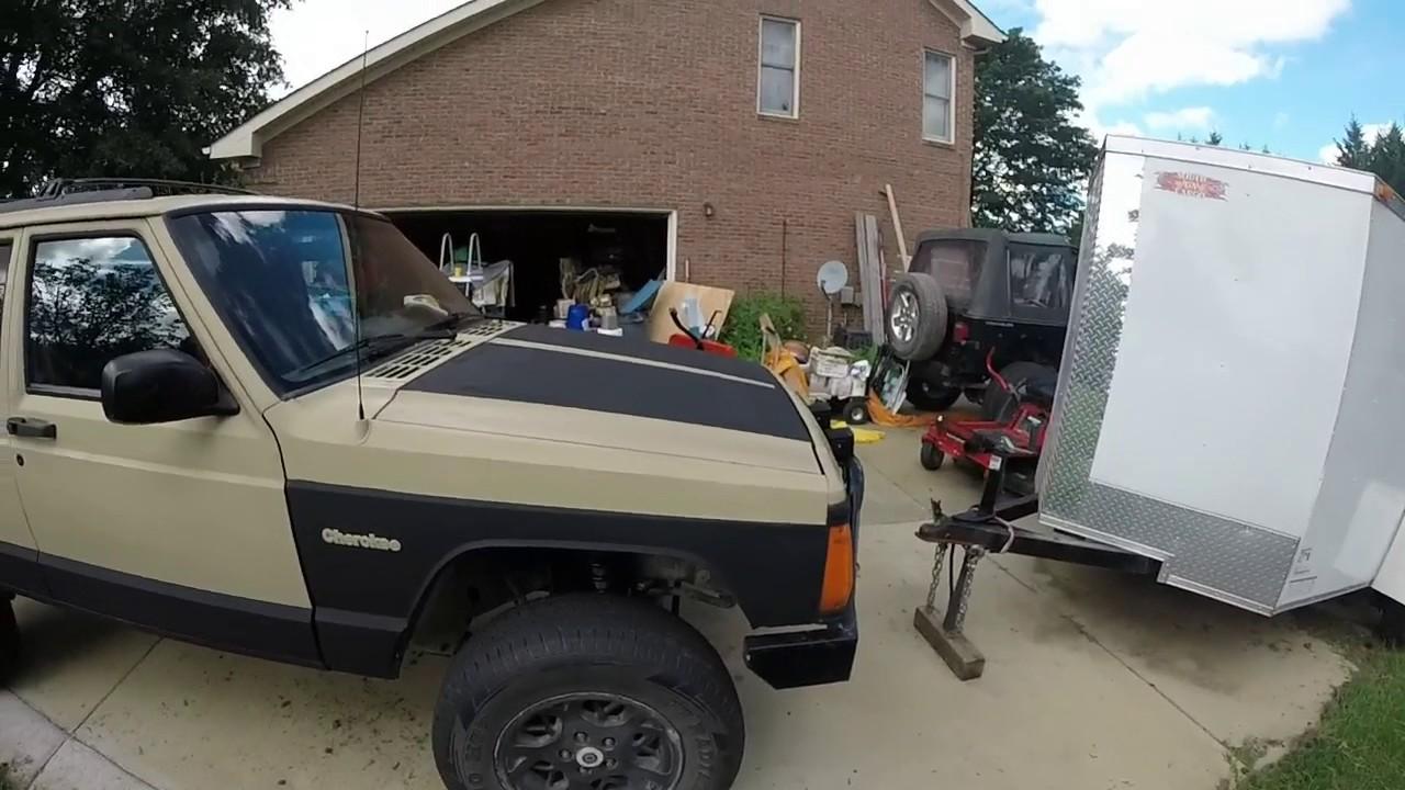 Jeep Cherokee Xj 100 Paint Job