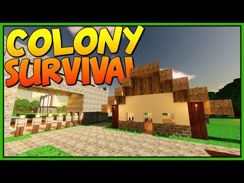 BUILDING AMAZING HOUSES - Homes For Everyone! - Let's Play Colony Survival Gameplay
