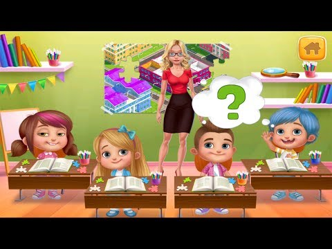 My Teacher - Classroom Play | Fun & Creative Activities | Best Kids Apps TV