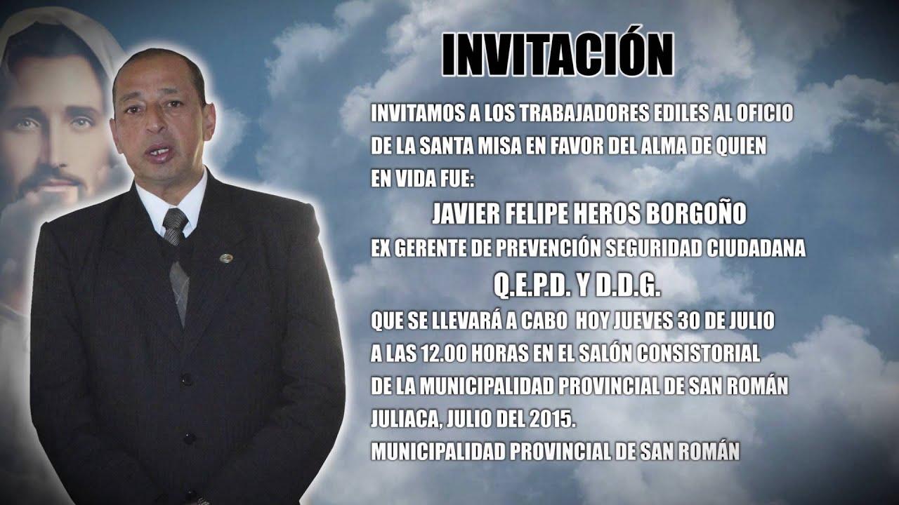 Invitacion A Misa